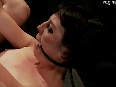Big boobs girl ballsucking