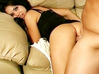 Indian Looking Girl first time anal sex