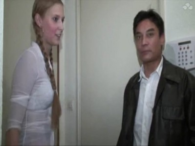 FRENCH BLONDE TEEN WITH TWO MEN  www.beeg18.com